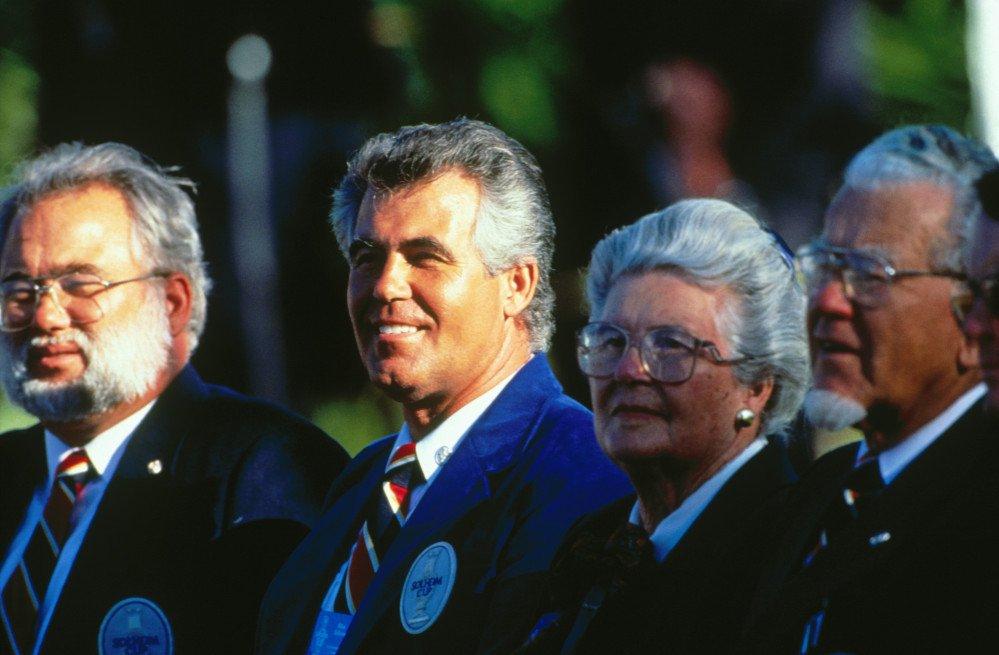 Familie Solheim beim ersten Solheim Cup 1990. (Foto: Getty)