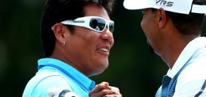 Notah Begay, alter Uni-Freund von Tiger Woods, sieht den Golfstar auf einem guten Weg. (Foto: Getty)