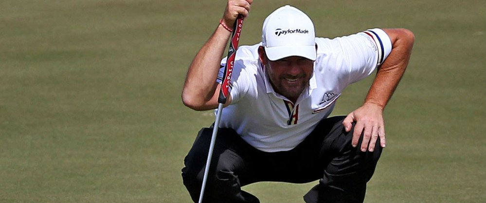 Alex Cejka vertritt die deutschen Farben bei der Puerto Rico Open und landete nach dem ersten Tag in den Top Five.