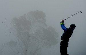 Dichter Nebel verhindert einen reibungslosen Ablauf des Turniers in Madeira bereits 2014. (Foto: Getty)