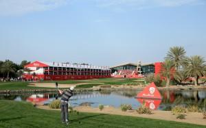Im Abu Dhabi GC findet alljährlich die Abu Dhabi HSBC Golf Championship statt, die Martin Kaymer 2011 gewinnen konnte. (Foto: Getty)