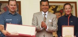 Der Schotte Richie Ramsay kann die Trophée Hassan II in diesem Jahr für sich entscheiden. Gleiches gilt für die Französin Gwladys Nocera im Rahmen des Lalla Meryem Cups. (Foto: Getty)