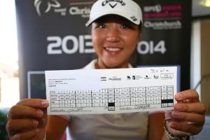 Lydia Ko stellt mit ihrer 61er Runde einen neuen Platzrekord in Christchurch auf. (Foto: ladieseuropeantour.com)