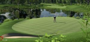 """Das Videospiel """"The Golf Club"""" von HB Studios ist eine Golfsimulation mit Golfplatz-Editor."""