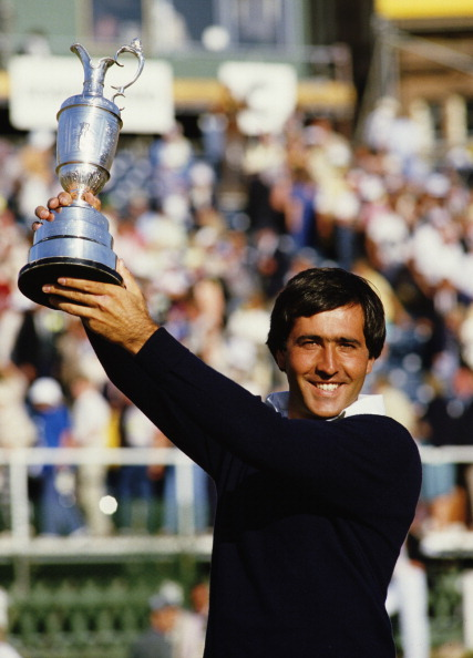 Seve Ballesteros nach seinem Open-Sieg 1984. (Foto: Getty)