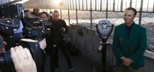 Jordan Spieth eilt nach dem Masterssieg in New York von Termin zu Termin.