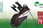 TaylorMade Pure Lite Standbag für nur 79.90€: Nur diese Woche und nur bei par71 (Foto: Golf Post)