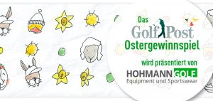 Das Golf Post Ostergewinnspiel powered by Hohmann Golf - bald geht's los. (Bild: Golf Post)