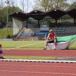 Michel Frauen beim TSV Bayer Leverkusen. (Foto: MF)