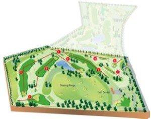 Zweiter Bauabschnitt der GolfCity Golfanlage München Puchheim. (Bild: GolfCity)