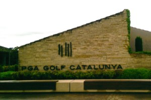 Das Logo des PGA Golf Catalunya Resorts. (Foto: Golf Post)