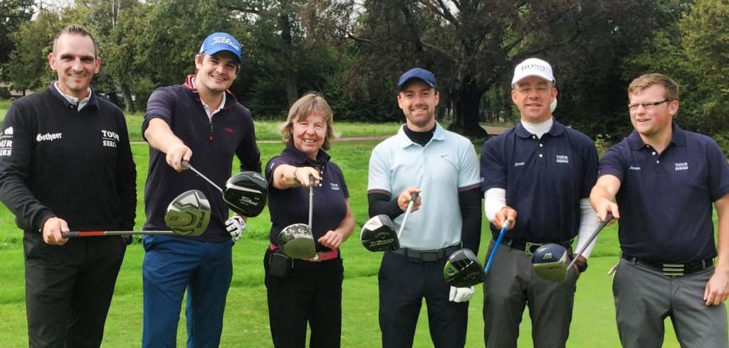 """Für Golf Post auf Punktejagd bei der Tour Series: """"Golf Post Team 9"""""""