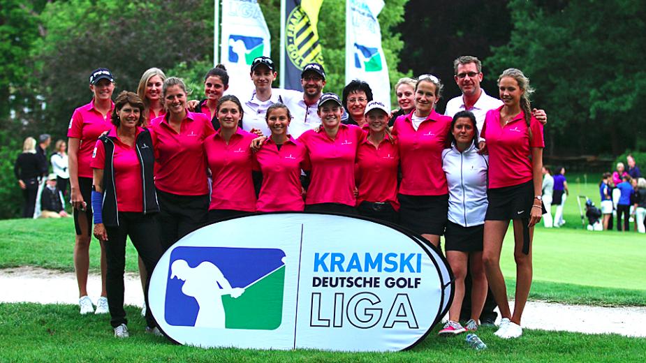 Eindeutiger Tagessieg für die Deutschen Meisterinnen des Golfclub St. Leon-Rot (Foto: DVG/stebl)