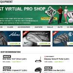 Der Pro Shop, hier können die Avatare ausgestattet werden. (Foto: Screenshot)