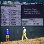 Erstmals gibt es bei einer US Open digitale Scoreboards.