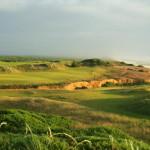 Das 16. Loch auf dem Bandon Dunes Golfplatz. (Foto: Getty)