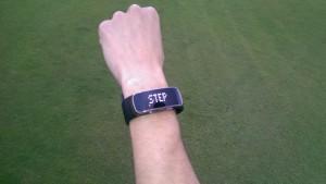 Der Schrittzähler. (Foto: Golf Post)