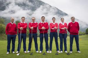 Sogar einen Nationalkader können die Liechtensteinschen Golfzwerge vorweisen. (Foto: Golfverband Liechtenstein)