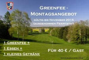 Montagsangebot im Golfclub Heilbronn