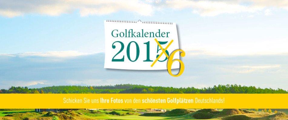 Nutzen Sie die Chance und bewerben Sie sich jetzt für den Golf Post Golfkalender 2016. (Foto: Golf Post)