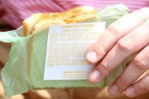 Das berühmte Pimento Cheese Sandwich beim Masters. (Foto: Getty)
