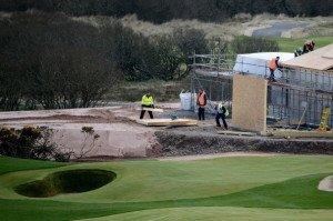 Auf Baustellen lässt sich nicht gut golfen. (Foto: Getty)