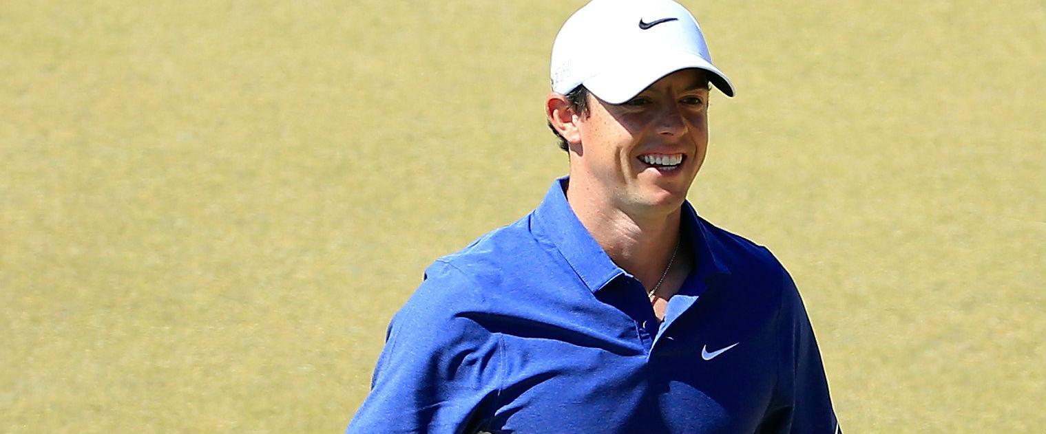 Hurru! Rory McIlroy wird seinen Titel bei der PGA Championship verteidigen. (Foto: Getty)