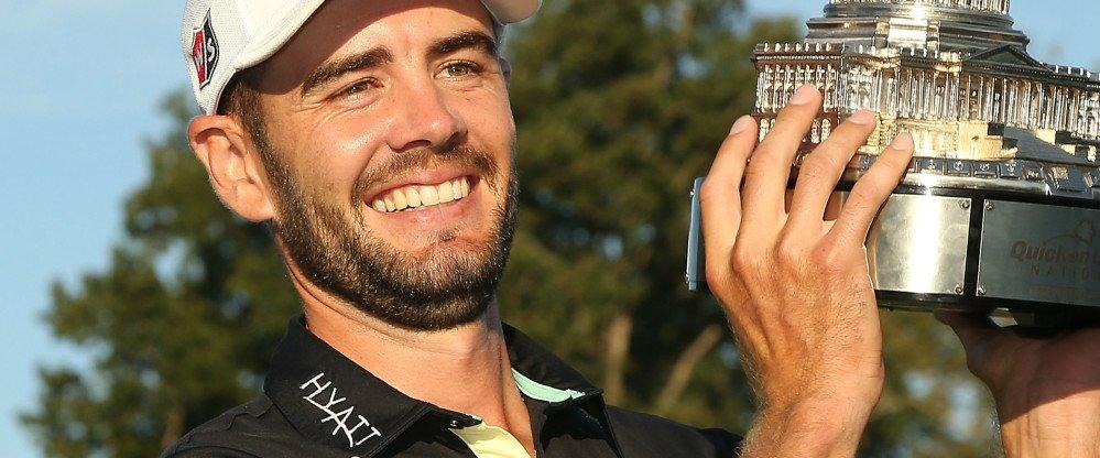 Troy Merritt gewinnt mit der Quicken Loans National sein erstes PGA-Tour-Event. (Foto: Getty)