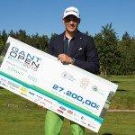 Dominic Foos sicherte sich bei der Gant Open im finnischen Turku seinen ersten Profi-Titel. (Foto: IMPACT point AG)