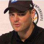 Martin Kaymer bei der Pressekonferenz vor dem WGC-Turnier. (Foto: worldgolfchampionships.com)
