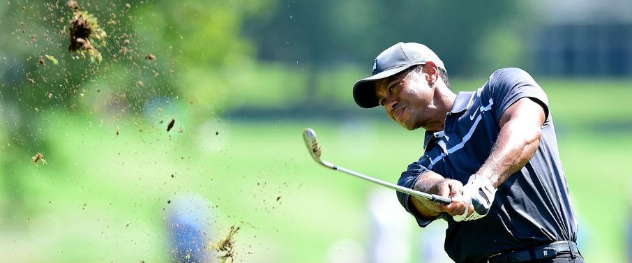 Der Tiger beißt wieder: Tiger Woods liegt in geteilter Führung und will sich durch einen Sieg für die FedExCup-Playoffs qualifizieren. (Foto: Getty)