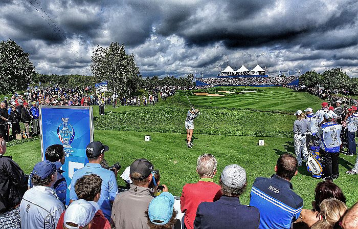 Solheim-Cup-Finale 2015 - Charley Hull