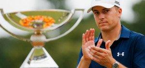 Applaus, Applaus! Jordan Spieth krönt eine formidable Saison mit dem Gewinn des FedExCup. (Foto: Getty)