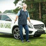 Stefan Baumgart, der glückliche Sieger eines 40.000 Euro teuren Mercedes. (Foto: Christian Pankratz)