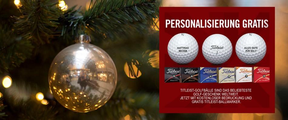Titleist-Golfbälle jetzt mit kostenloser Bedruckung und gratis Titleist-Ballmarker. (Foto: Titleist)