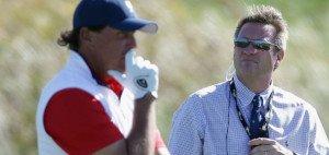 Phil Mickelsons Fehler führte zu einer Strafe und schließlich einem halben Punkt Verlust beim Presidents Cup.
