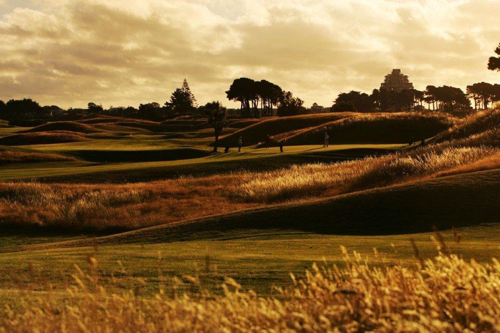 Der Paraparaumu Beach Golf Club in Paraparaumu, Neuseeland. (Foto: Getty)