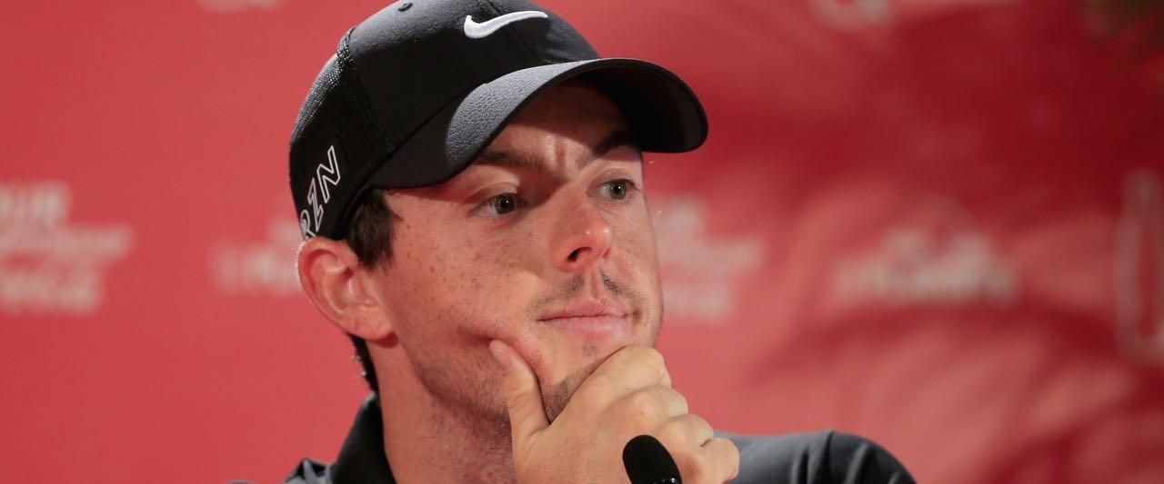 Rory Mcllroy freut sich auf ein bisschen Golf 'auf Augenhöhe'. (Foto: Getty)