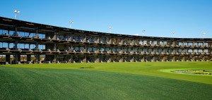 Mehr als eine Driving Range: Ein Konzept am Zahn der Zeit, dass auch für die Zukunft von Golf nützlich sein könnte. (Foto: TopGolf)