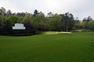 """""""White Dogwood"""": Das 11. Loch auf dem Augusta National Golfplatz. (Foto: flickr@Ryan Schreiber)"""