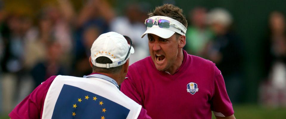 Nur der Ryder Cup hält die European Tour zusammen, meint Ian Poulter, und kann die Einstellung der Tour nachvollziehen. (Foto: Getty)