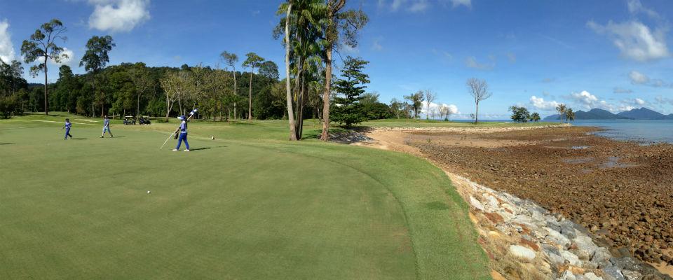 The Els Club Teluk Datai ist eins der Aushängeschilder für Golf in Malaysia.