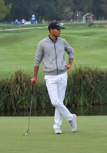Sean Einhaus bei der European Open in Bad Griesbach 2015. (Foto: Golf Post)