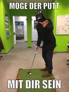 Möge die Macht mit Tiger Woods sein. (Foto: Golf Post)