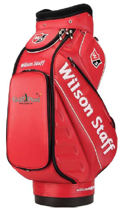 Hier zu sehen: Das Golf Post Tour Bag von Wilson Staff. (Bild: Wilson Staff)
