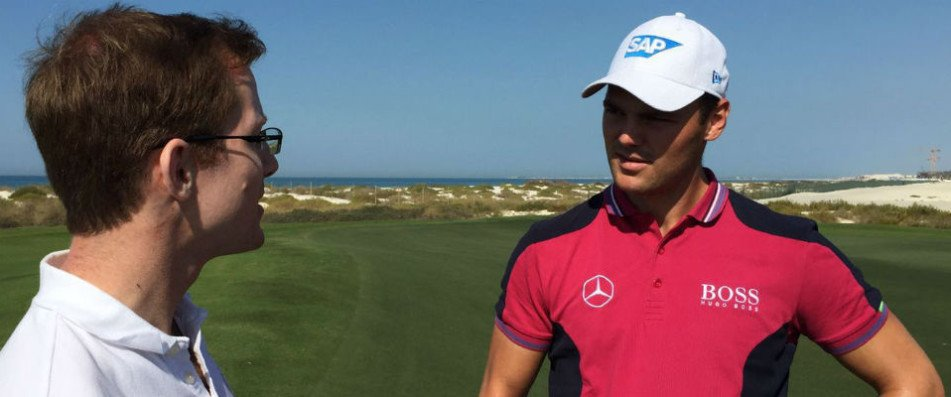 Golf Post traf Martin Kaymer in Abu Dhabi zu einem exklusiven Interview.