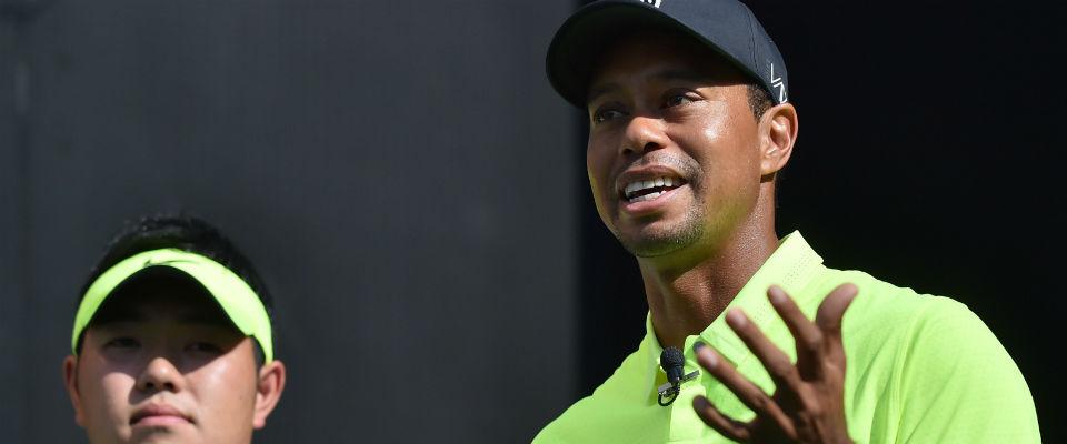 Tiger Woods trainiert wieder am Simulator. Wann er auf die Tour zurückkehrt ist dennoch offen. (Foto: Getty)