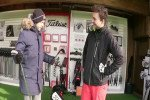 Golf Post Redakteur Yannick Beyss im Gespräch mit Jan Bellenhaus, Area Sales Manager bei Titleist. (Foto: Golf Post)