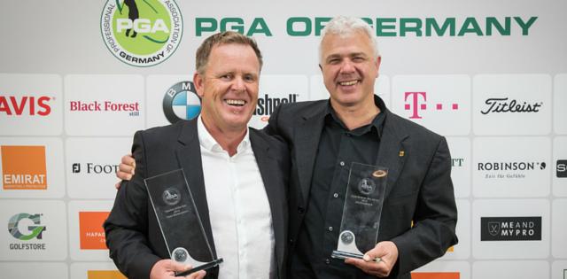 Peter Wolfenstetter und Ulrich Eckhardt: Die besten Trainer der Saison 2015 (Foto: PGA of Germany / Heigl)