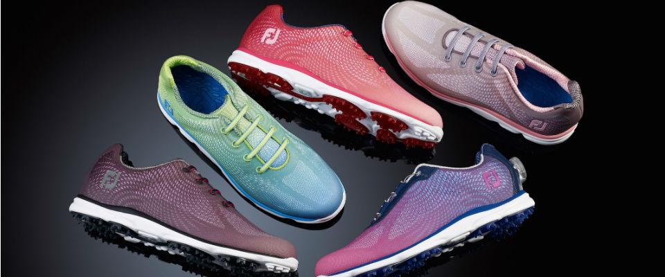 Der neue emPower von FootJoy ist ein farbenfroher Golfschuh für die Damenwelt (Foto: FootJoy)